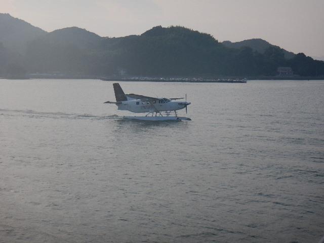 マリーナに隣接している水陸両用飛行機 乗りたかった・・・次回こそ!