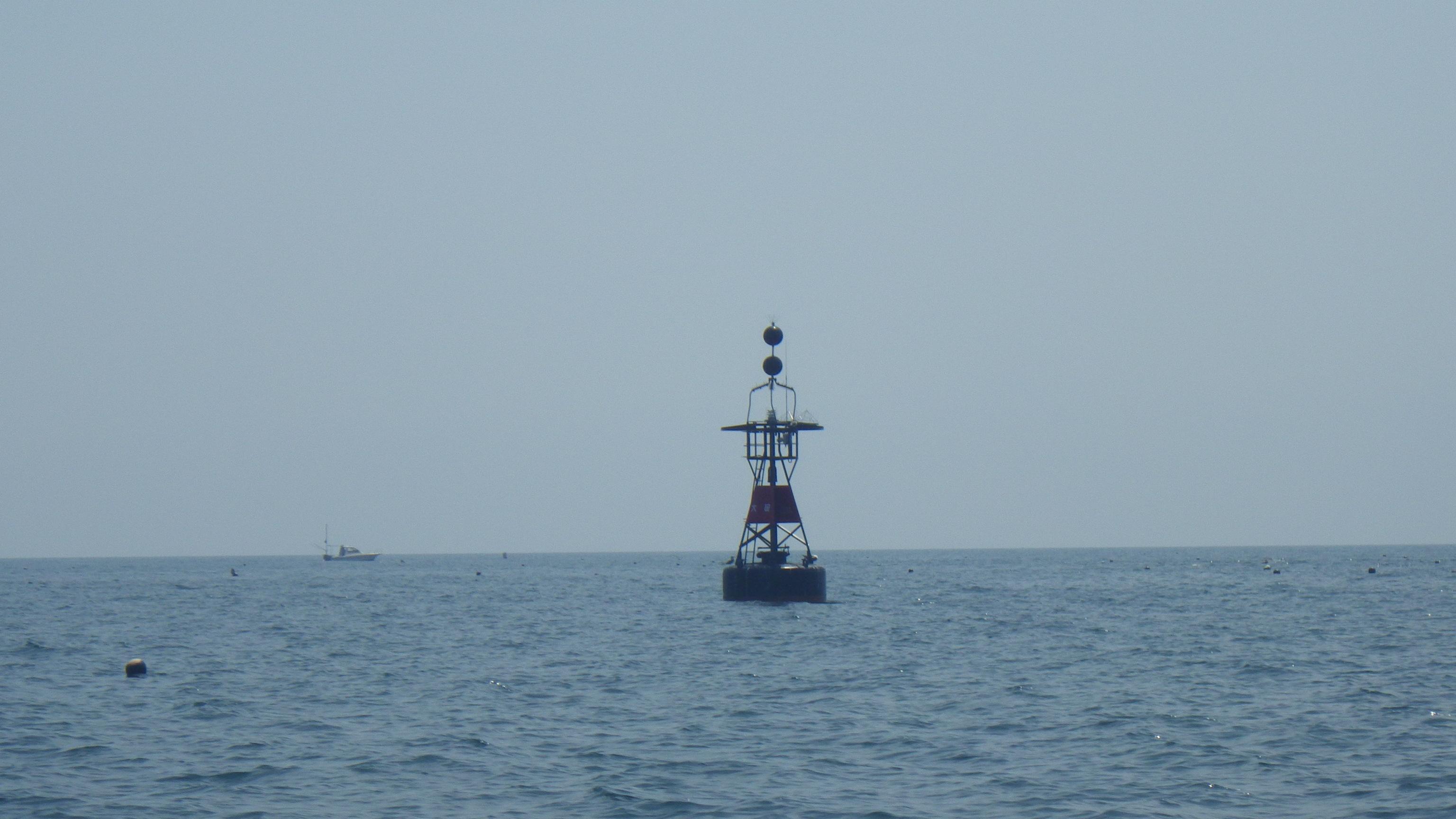 学科で習う、「海の標識」があります。これの意味は何でしょうか??