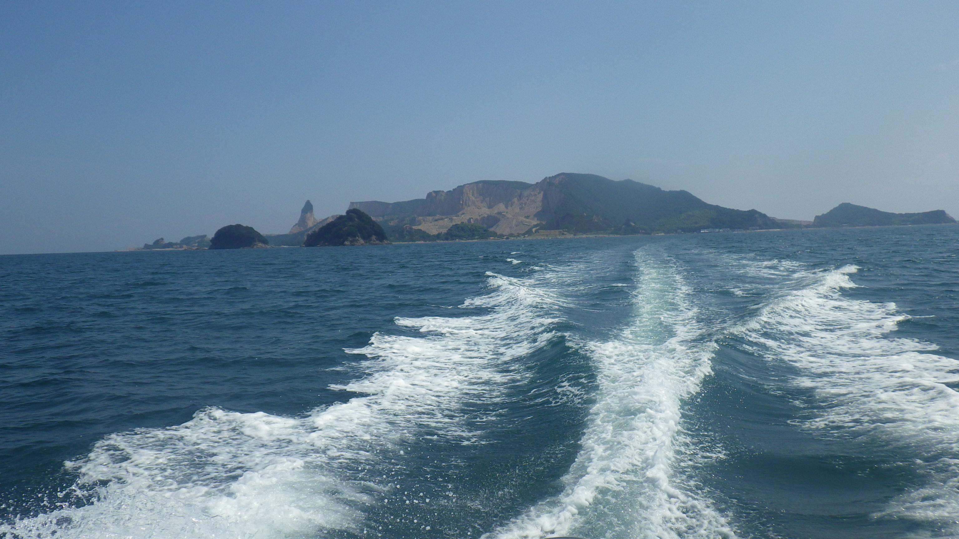 船で自由に走りたい!!