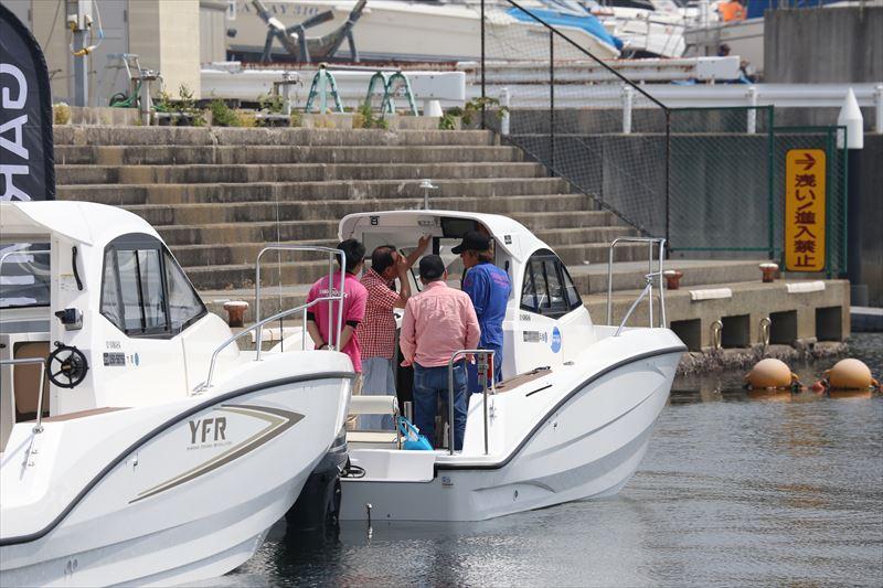 GARMIN GPS魚探体感講習