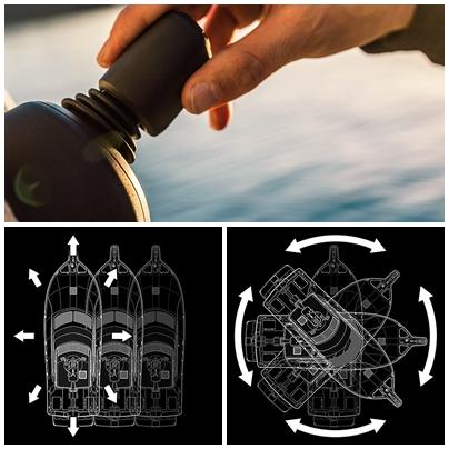 360°自由自在 イージー離着岸システム搭載