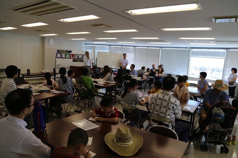 海藻おしば教室で、多くの素敵な作品が生まれました!