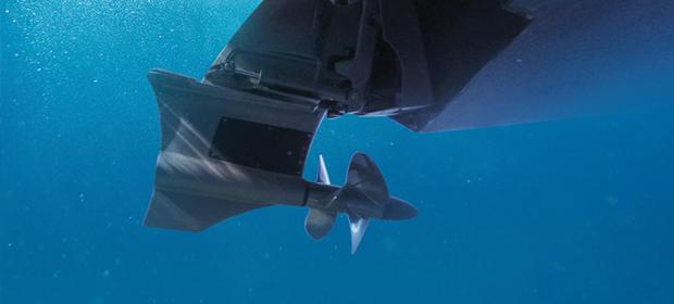 New 次世代型 FWD-DRIVE[フォアドライブ] :ボートの推進力、船体安定度が高次元で実現、パワー効率、ウエイクサーフィンにおいて安全面でメリットになります。