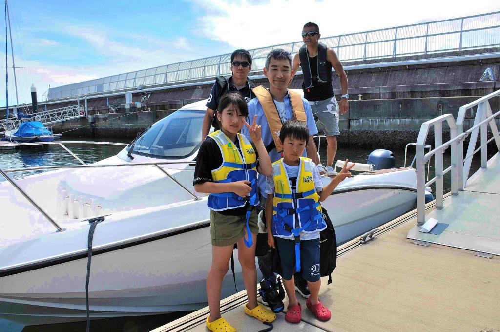 ボート体験乗船 プログラム