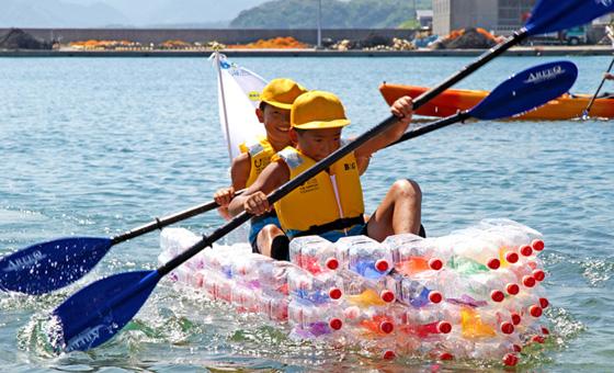 水辺の安全教室プログラム.